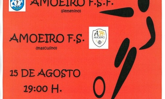 Presentación de Equipos Feminino e Masculino de Fútbol-Sala de Amoeiro