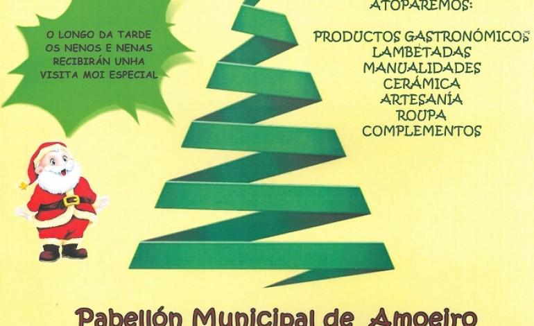 A ANPA do noso CEIP organiza un Mercado de Nadal no Pavillón Municipal de Amoeiro