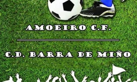 15 de Agosto: O Amoeiro CF preséntase na Penafita nun amigable co CD Barra de Miño