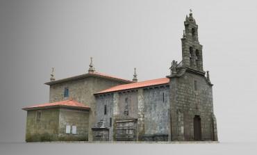 """Presentación con gafas 3d do proxecto""""Amoeiro 3D"""" na Casa de Cultura"""