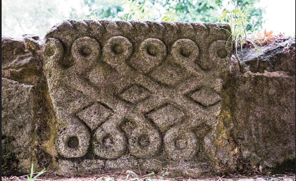 Pedra Castrexa na Fonte de Fontefría