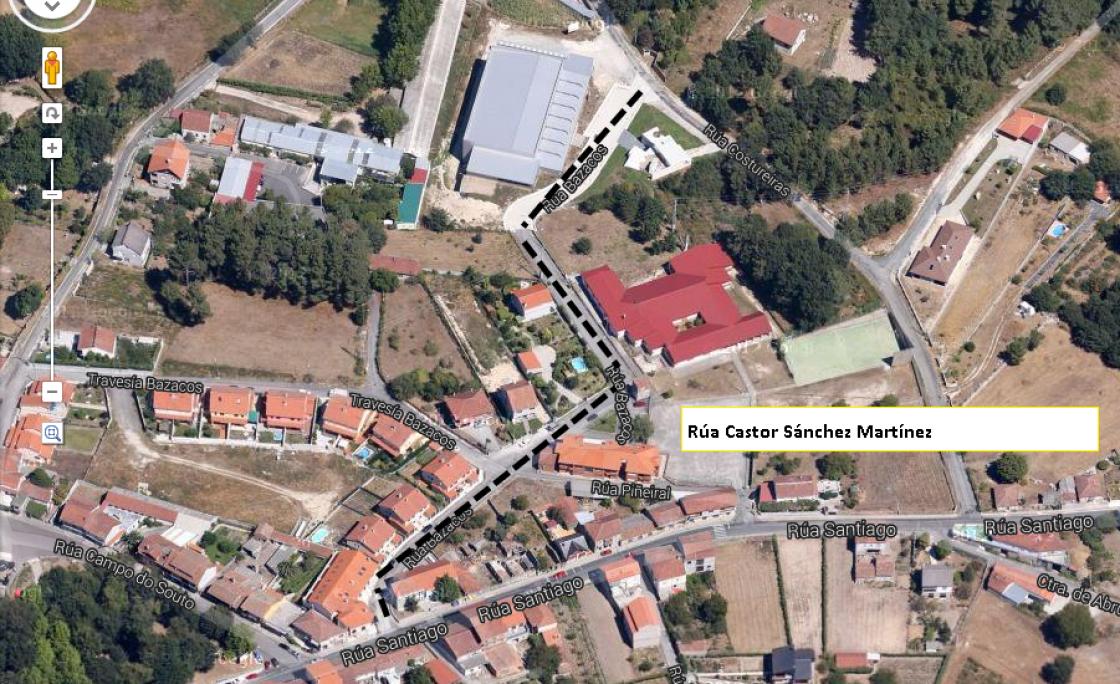 Rúa Castor Sánchez Martínez Martínez