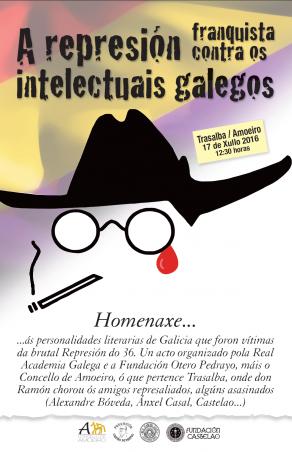 """Programa da Xornada sobre """"A Represión Franquista contra os Intelectuais Galegos"""""""