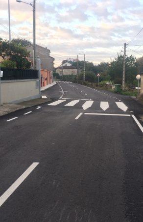 O Concello de Amoeiro emprega o Plan Marco para mellorar viarios municipais