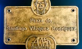Descubrimento da Placa da Praza de Santiago Vázquez Rodríguez e Cea do San Xoán en Portecelos (Parada)
