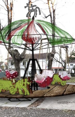 Inauguración do Primeiro Carrusel Ecolóxico Municipal de España en Amoeiro