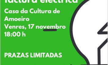 Taller Formativo sobre a Factura Eléctrica: Prazas Limitadas