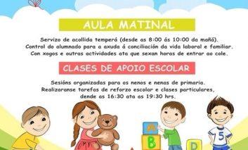 Xuntanza informativa sobre os Servizos Municipais de Aula Matinal e Apoio Escolar