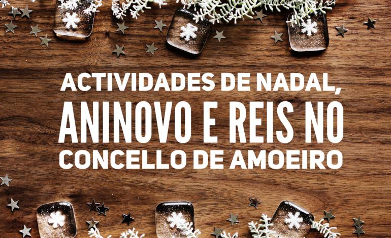 Actividades de Nadal, Aninovo e Reis no Concello de Amoeiro