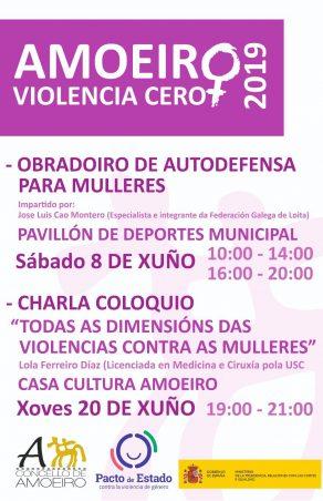 Violencia Cero #Amoeiro'19