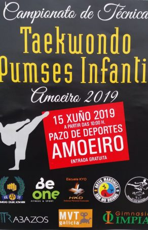 Campionato técnica Taekwondo Pumses Infantil