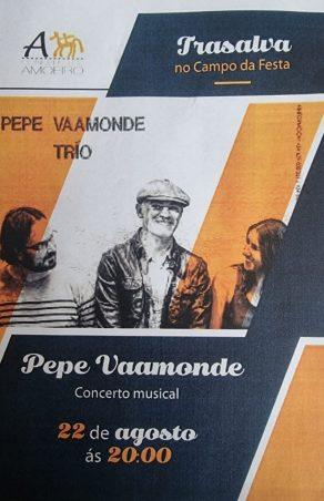 Actuación musical de Pepe Vaamonde en Trasalva