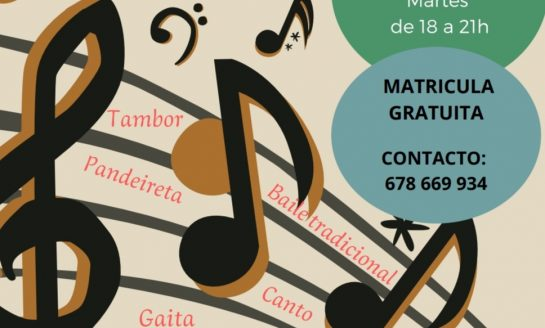 """Escola de Música e Baile Tradicionais DEVALAR """"Concello de Amoeiro"""""""
